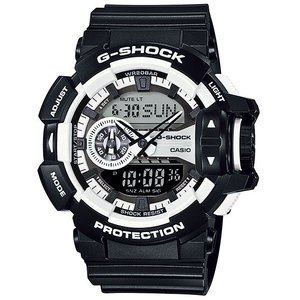 カシオ Gショック CASIO G-SHOCK ジーショック Hyper Colors ハイパーカラーズ アナデジ 腕時計 ブラック GA-400-1AJF 国内正規モデル|g-supply