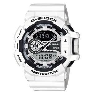 カシオ Gショック CASIO G-SHOCK ジーショック Hyper Colors ハイパーカラーズ アナデジ 腕時計 ホワイト GA-400-7AJF 国内正規モデル