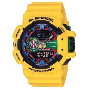 CASIO G-SHOCK カシオ Gショック ジーショック Hyper Colors ハイパーカラーズ アナデジ 腕時計 ブラック イエロー GA-400-9AJF 国内正規モデル|g-supply