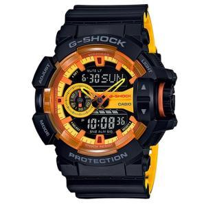 G-SHOCK Gショック ジーショック 限定 Black&Yellowシリーズ カシオ CASIO アナデジ 腕時計 イエロー ブラック GA-400BY-1AJF 国内正規モデル|g-supply