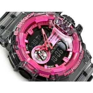 G-SHOCK Gショック 限定モデル クリアスケルトン 逆輸入海外モデル カシオ アナデジ 腕時計...