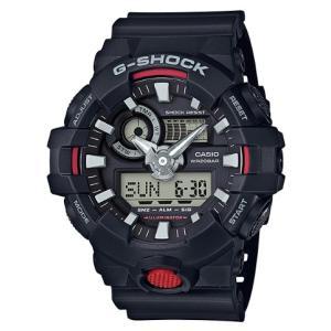 G-SHOCK Gショック ジーショック カシオ CASIO アナデジ 腕時計 ブラック レッド GA-700-1AJF 国内正規モデル