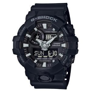 G-SHOCK Gショック ジーショック カシオ CASIO アナデジ 腕時計 オールブラック GA-700-1BJF 国内正規モデル