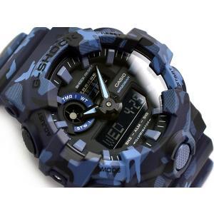 [5年間保証対象]G-SHOCK Gショック 逆輸入海外モデル カシオ アナデジ 腕時計 ダークブル...