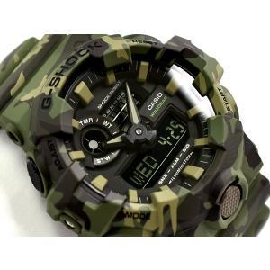 [5年間保証対象]G-SHOCK Gショック 逆輸入海外モデル カシオ アナデジ 腕時計 カーキ グ...