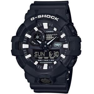 G-SHOCK Gショック ジーショック 35th Anniversary ERIC HAZE コラボ 限定モデル カシオ アナデジ 腕時計 ブラック GA-700EH-1AJR 国内正規モデル g-supply