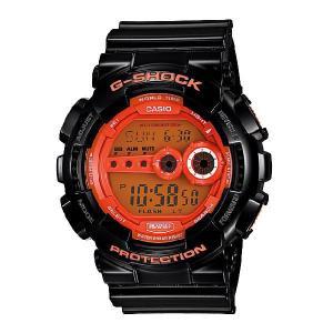 G-SHOCK Gショック ジーショック g-shock gショック ハイパーカラーズ オレンジ ブラック GD-100HC-1JF|g-supply