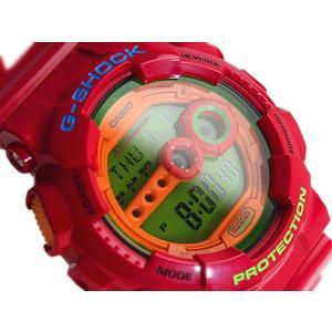 G-SHOCK ジーショック Gショック g-shock gショック ハイパーカラーズ グリーン オレンジ レッド GD-100HC-4DR G-SHOCK Gショック|g-supply