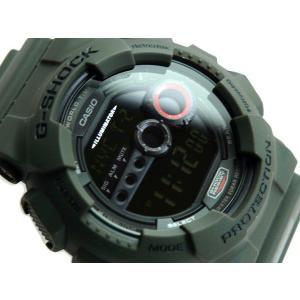 G-SHOCK ジーショック Gショック g-shock gショック ブラック マットカーキ GD-100MS-3DR G-SHOCK Gショック g-supply