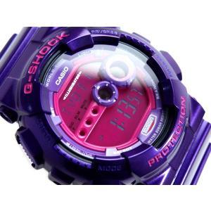 G-SHOCK Gショック ジーショック g-shock gショック クレイジーカラーズ ピンク パープル GD-100SC-6 腕時計