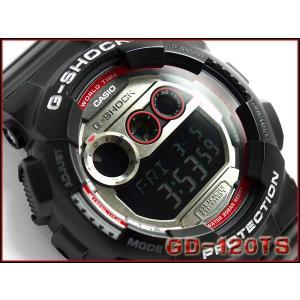 G-SHOCK ジーショック Gショック g-shock gショック デジタル 腕時計 ブラック GD-120TS-1DR G-SHOCK Gショック