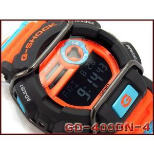 CASIO G-SHOCK カシオ Gショック 海外モデル Dusty Neon Series ダスティ・ネオン・シリーズ デジタル 腕時計 オレンジ GD-400DN-4