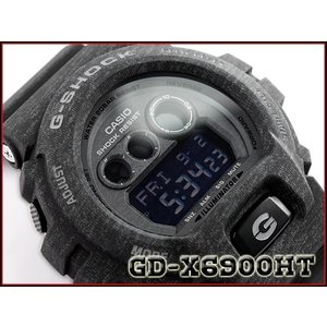 CASIO G-SHOCK カシオ Gショック 逆輸入海外モデル ヘザード・カラー・シリーズ 限定モデル デジタル 腕時計 ブラック GD-X6900HT-1ER GD-X6900HT-1