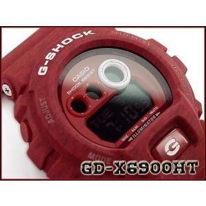 CASIO G-SHOCK カシオ Gショック 逆輸入海外モデル ヘザード・カラー・シリーズ 限定モデル デジタル 腕時計  レッド GD-X6900HT-4ER GD-X6900HT-4 g-supply