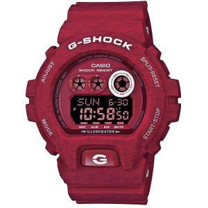 CASIO G-SHOCK カシオ Gショック ヘザード・カラー・シリーズ 限定モデル デジタル 腕時計 GD-X6900HT-4JF レッド 国内正規モデル g-supply