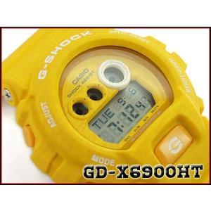 CASIO G-SHOCK カシオ Gショック 逆輸入海外モデル ヘザード・カラー・シリーズ 限定モデル デジタル 腕時計  イエロー GD-X6900HT-9ER GD-X6900HT-9