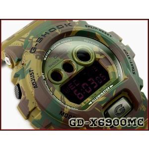 G-SHOCK Gショック 限定モデル カシオ CASIO デジタル 腕時計 カモフラージュシリーズ ウッドランドカモ グリーン GD-X6900MC-3CR GD-X6900MC-3 g-supply