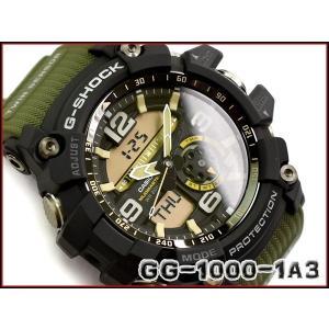 sports shoes 0dcea da280 [予約商品 9/20日前後入荷予定]G-SHOCK Gショック ジーショック マッドマスター 海外モデル カシオ アナデジ 腕時計 ブラック カーキ  グリーン GG-1000-1A3