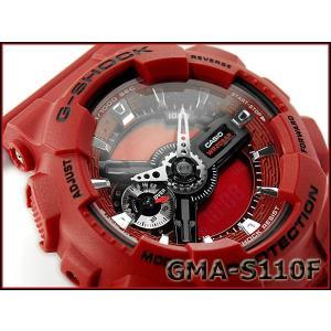 G-SHOCK Gショック ジーショック カシオ CASIO 限定モデル S Series Sシリーズ 逆輸入海外モデル アナデジ 腕時計 ローズ柄 レッド GMA-S110F-4A g-supply