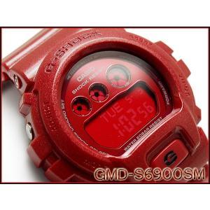 CASIO G-SHOCK カシオ Gショック ジーショック 限定モデル S Series Sシリーズ 逆輸入海外モデル デジタル 腕時計 メタリック レッド GMD-S6900SM-4 g-supply
