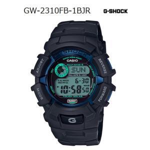 G-SHOCK Gショック 限定 ファイアー・パッケージ '17 カシオ デジタル 電波 ソーラー 腕時計 ブルー ミントグリーン ブラック GW-2310FB-1BJR 国内正規モデル g-supply