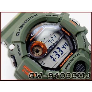CASIO G-SHOCK カシオ Gショック 限定 RANGEMAN レンジマン メン・イン・カモフラージュ 電波 ソーラー 腕時計 カーキ グリーン カモフラ GW-9400CMJ-3 g-supply