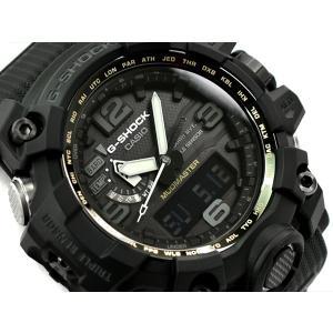 new arrival aaa19 bf4f5 [予約商品 9/20日前後入荷予定]G-SHOCK Gショック マッドマスター 逆輸入海外モデル カシオ ソーラー 電波時計 メンズ 腕時計  オールブラック GWG-1000-1A1