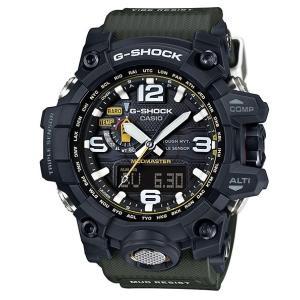 カシオ CASIO G-SHOCK Gショック 限定 MUDMASTER マッドマスター ソーラー 電波 腕時計 ブラック カーキ GWG-1000-1A3JF 国内正規品 g-supply