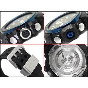 G-SHOCK Gショック ジーショック CASIO ガルフマスター 限定 海外モデル アナデジ 電波 ソーラー メンズ 腕時計 ブルー ブラック GWN-1000B-1B|g-supply|03