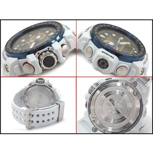 G-SHOCK Gショック ジーショック CASIO ガルフマスター 限定 海外モデル アナデジ 電波 ソーラー メンズ 腕時計 アイスブルー GWN-1000E-8A|g-supply|03