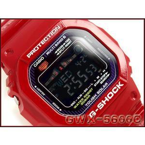 G-SHOCK Gショック ジーショック g-shock gショック G-LIDE Gライド ソーラー電波 デジタル レッド×パープル GWX-5600C-4JF  CASIO 腕時計