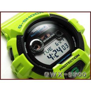 G-SHOCK Gショック ジーショック g-shock gショック G-LIDE Gライド 電波ソーラー デジタル 腕時計 ライムグリーン GWX-8900C-3 g-supply