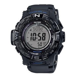 CASIO PRO TREK PROTREK カシオ プロトレック トリプルセンサーVer.3 電波 ソーラー 腕時計 ブラック ブルー PRW-3510Y-1JF 国内正規品