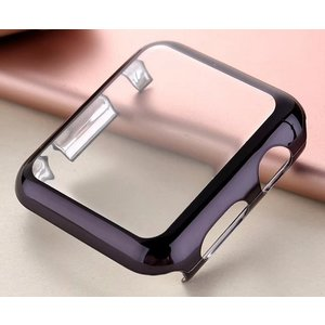 Apple Watch 42mm ゴールドTPU ソフトケース(ブラック) g-take-com