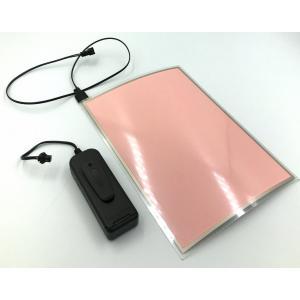 有機EL照明パネル(大) (ホワイト) (USB電源ユニットセット)|g-take-com