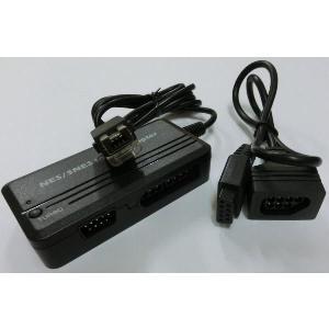 SFC+NES-Wii コントローラーアダプター(変換コネクタ付属)|g-take-com