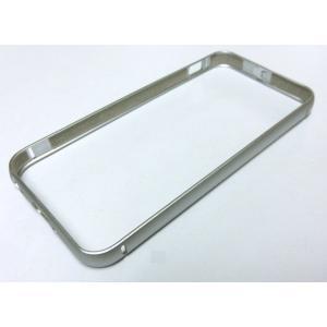 iPhone SE/5s/5 用 アルミ製バンパー(シルバー)|g-take-com