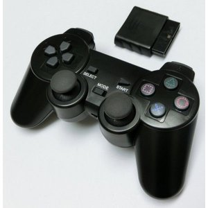 PS2 ワイヤレスコントローラー g-take-com