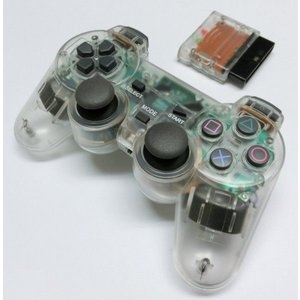 PS2 ワイヤレスコントローラー(クリア)