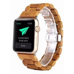 Apple Watch 42mm 木製バンド g-take-com