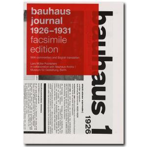 Bauhaus Journal 1926-1931 (Facsimile Edition)  バウハ...