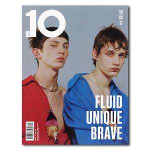 10 MEN Issue 45 SS17【英ラグジュアリーフ...