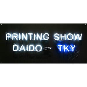 NEON SIGNPRINTING SHOW-TKY Daido Moriyama