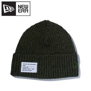 ニューエラ ニット帽 ミリタリーニット パッチ ヘザー 11781044|g-zone