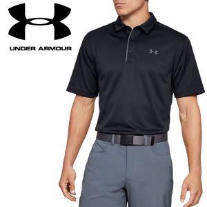 アンダーアーマー ゴルフ ポロシャツ テックポロ 1290140 メンズ 19SS|g-zone