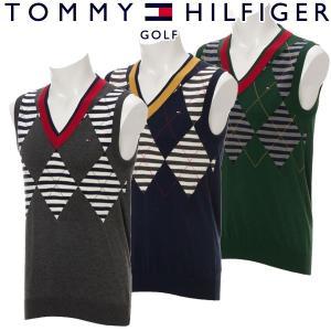 トミーヒルフィガー ゴルフウェア メンズ ベスト THMA773 秋冬 g-zone