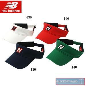 ニューバランス ゴルフ メンズ ゴルフウェア バイザー 012-7187024 春夏|g-zone