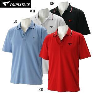 ツアーステージ ゴルフウェア メンズ 半袖ポロシャツ FTM01A 春夏|g-zone