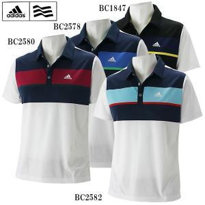 アディダス ゴルフ ウェア メンズ 半袖ポロシャツ LCD91 adidas 春夏|g-zone
