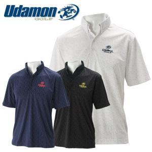 ユダマン メンズ ゴルフウェア 半袖ポロシャツ XUD1700S 春夏 UdamonGOLF|g-zone